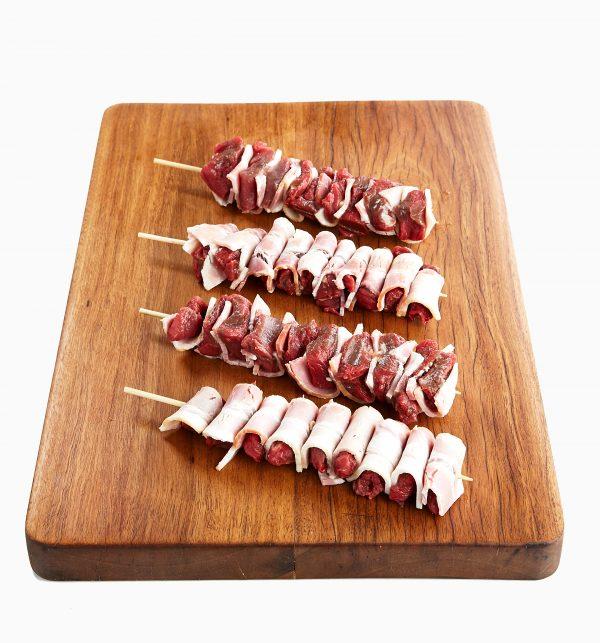 Beef Tenderloin w Bacon Mini-Skewer 2