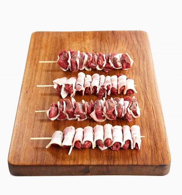 Beef Tenderloin w Bacon Mini-Skewer 3