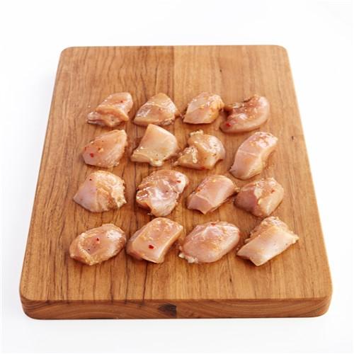 Chicken Breast Diced & Marinated
