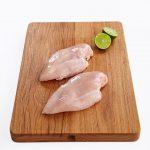 Chicken Breast Halfs Skin Off 1
