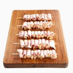 Chicken Breast Marinated w Bacon Mini-Skewer 2