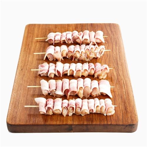 Chicken Breast w Bacon – Mini Skewer