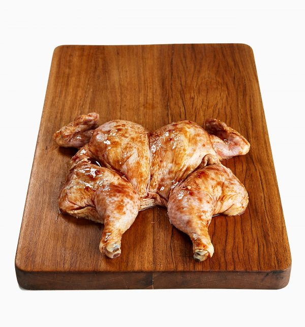 Chicken Whole Butterfly Marinated BBQ 2