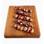 LAMB RUMP MARINATED W: ONION & CAPSICUM – MINI-SKEWER