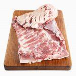 Pork Belly Whole skin on boned & Scored 2