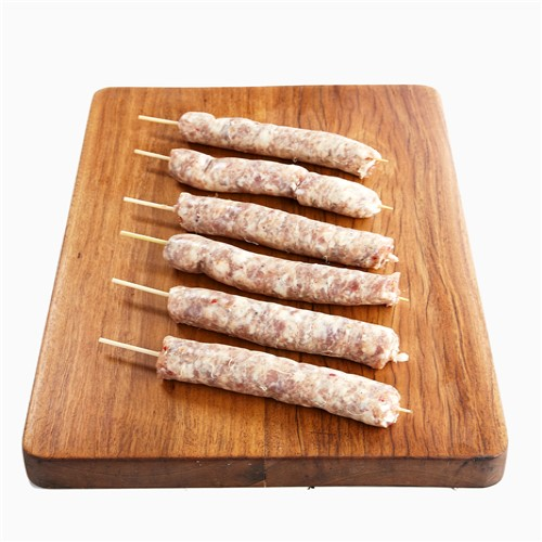 Pork Calabreza Sausage – Mini-Skewer