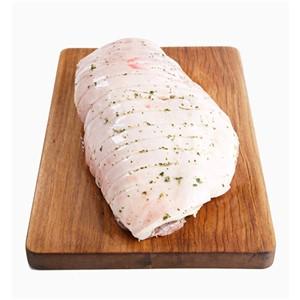 Pork Leg Boned & Rolled, Scored & Marinated