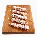 Pork Loin Marinated w Bacon Mini-Skewer 1