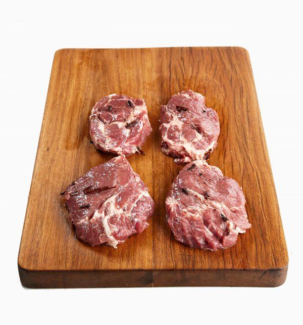 Pork Scotch Steak Marinated 1