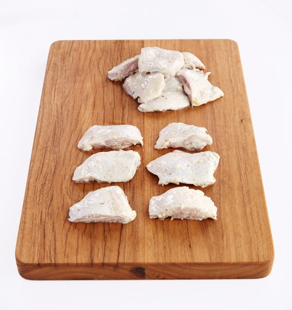 Chicken Thigh Fillet Marinated 1